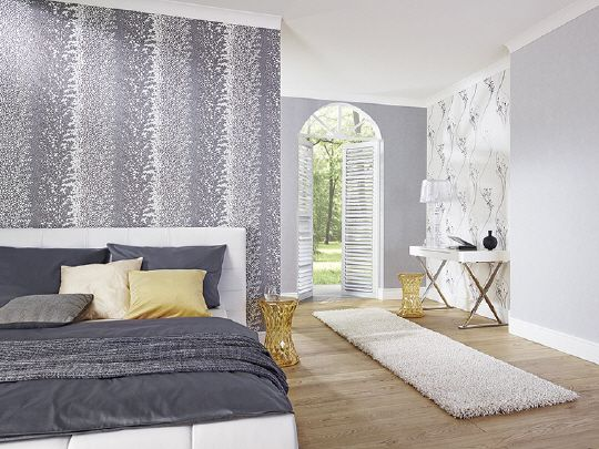 Tapetengestaltung Schlafzimmer ~ Moderne tapeten schlafzimmer die besten betonoptik farbe