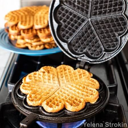 Cast Iron Waffle Maker Heart Shape By Skeppshult Of Sweden At Phg Waffles Maker Cast Iron Cooking Waffle Iron