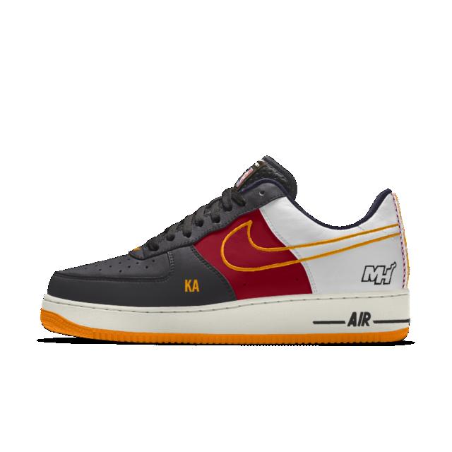 brand new 5f9ae b1f3a Nike Air Force 1 Low Premium iD (Miami Heat) Men s Shoe KA7