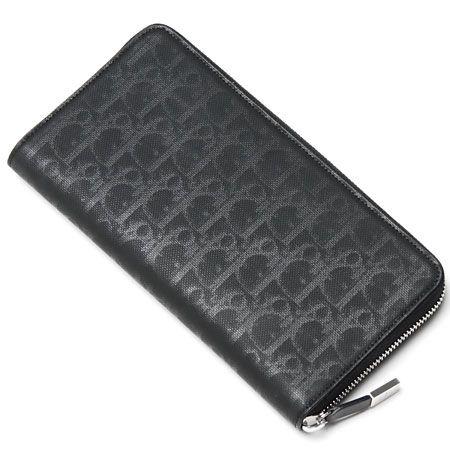 ディオールオム/Dior HOMME/ ラウンドファスナー 長財布[小銭入れ付き] /Noir  2dlbc021 dnn 900