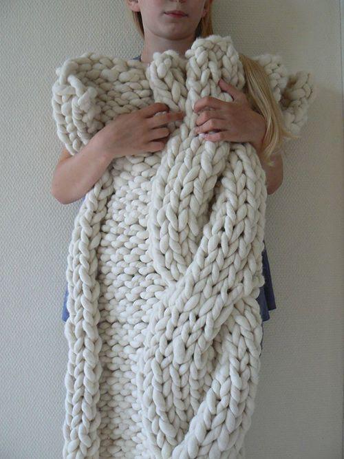 Fat and Sassy Merino de Tjockt fil géant à tricoter