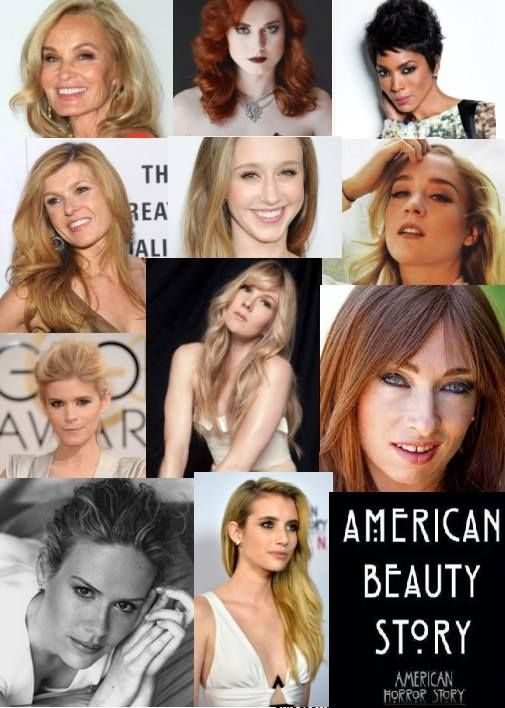 American Beauty Story (except they left out Gabourey Sidibe. Lizzie Brochere and Jamie Brewer! Of all the nerve!)