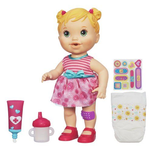 Baby Alive Baby Gets A Boo Boo Blonde This Is An Amazon Affiliate Link Want To Know More Click On The Image Baby Alive Dolls Baby Dolls Baby Alive