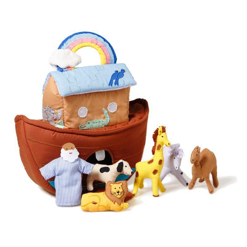 OSKAR + ELLEN Noahs Ark Playset 214 Noahs ark, Soft