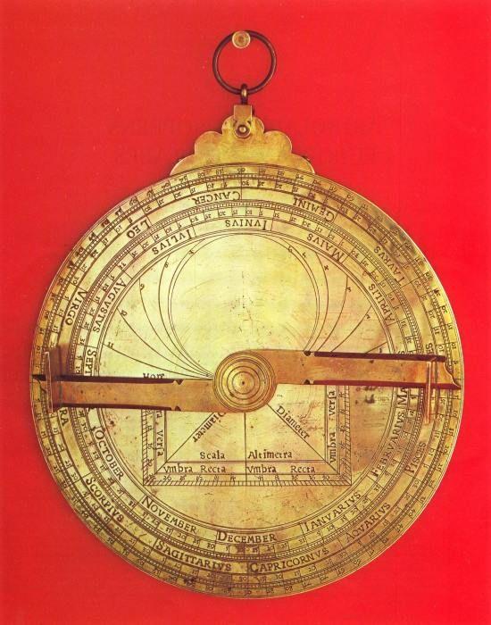 L'astrolabe de la cathédrale Saint-Jean à Lyon (69)