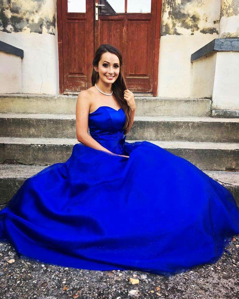 b4c9571a96 Shalia koszorúslány ruha, királykék | Esküvői Ruhák ekkor: 2019 ...