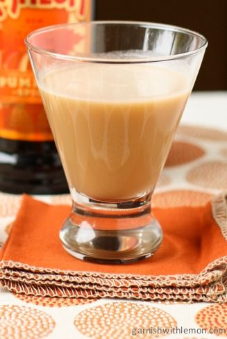 Coffee Liqueur Pumpkin Scotchie is a deliciously creamy, fall-inspired cocktail that is perfect for your next get-together with friends. Save this recipe for your Halloween and Thanksgiving parties as a dessert drink idea!