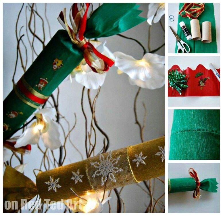 Impachetat cadou bday pinterest how to make your own christmas crackers solutioingenieria Images
