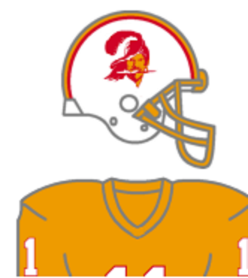 Updated The Color Of The Orange Neckline On The Bucco Bruce Logo Per Larry Tampa Bay Buccaneers Logo Tampa Bay Buccaneers Buccaneers