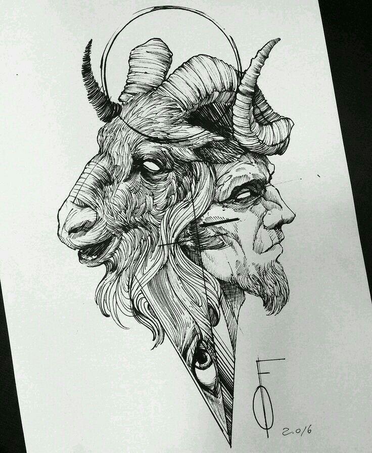 Pin De Boris Lurita Carranza En Screenshots Cabra Dibujo Tatuajes Satanicos Dibujos