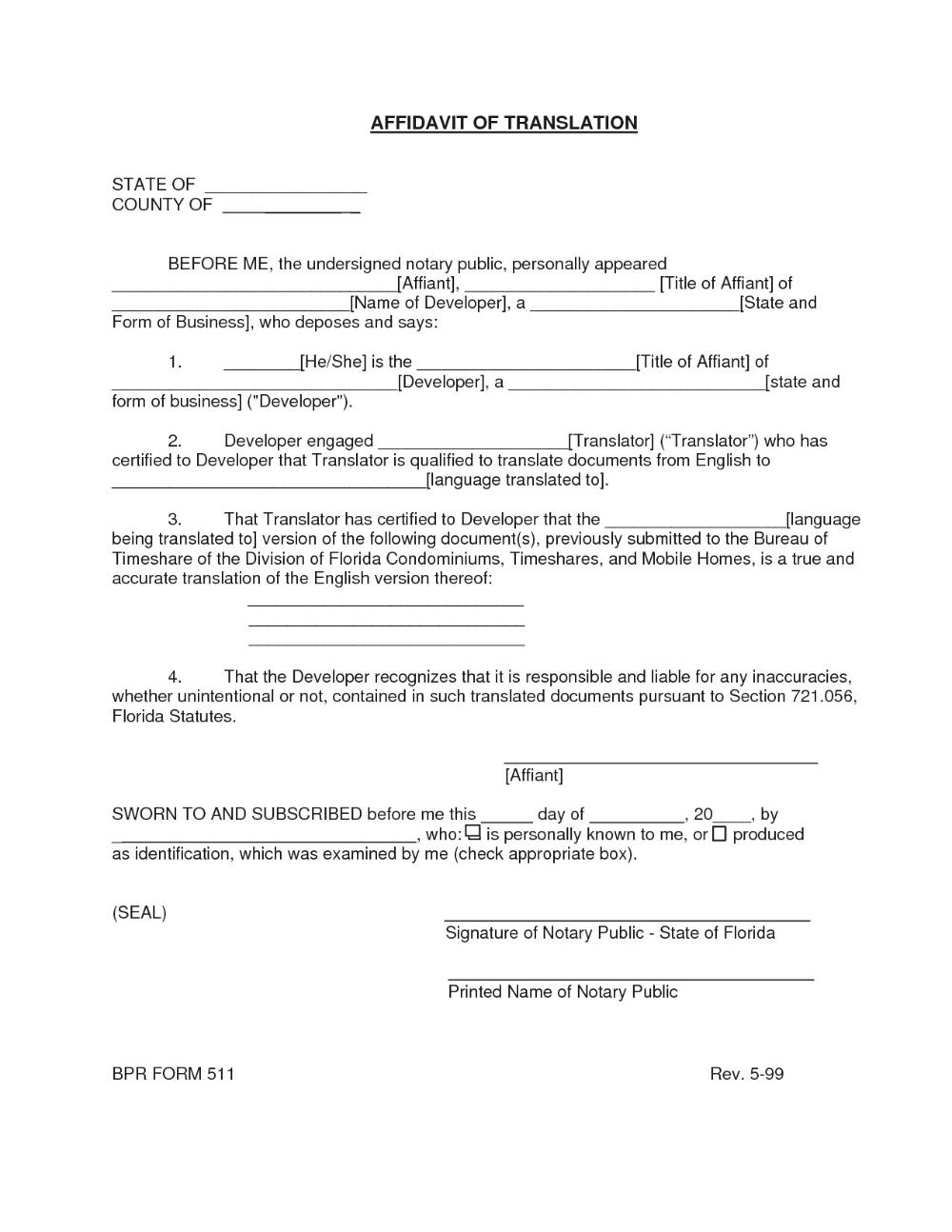 Birth Certificate Translation Form Pdf Bigwebdirectory Inside