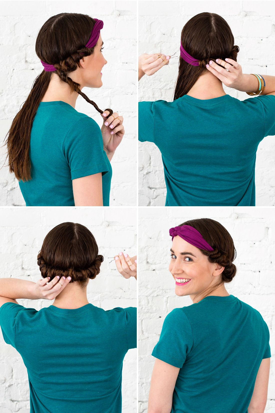 The How To Crew How To Style Wet Hair 10 Fast And Easy Hairstyles Damp Hair Styles Hair Styles Hair