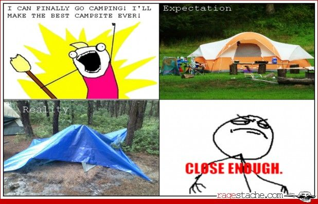 Going camping...