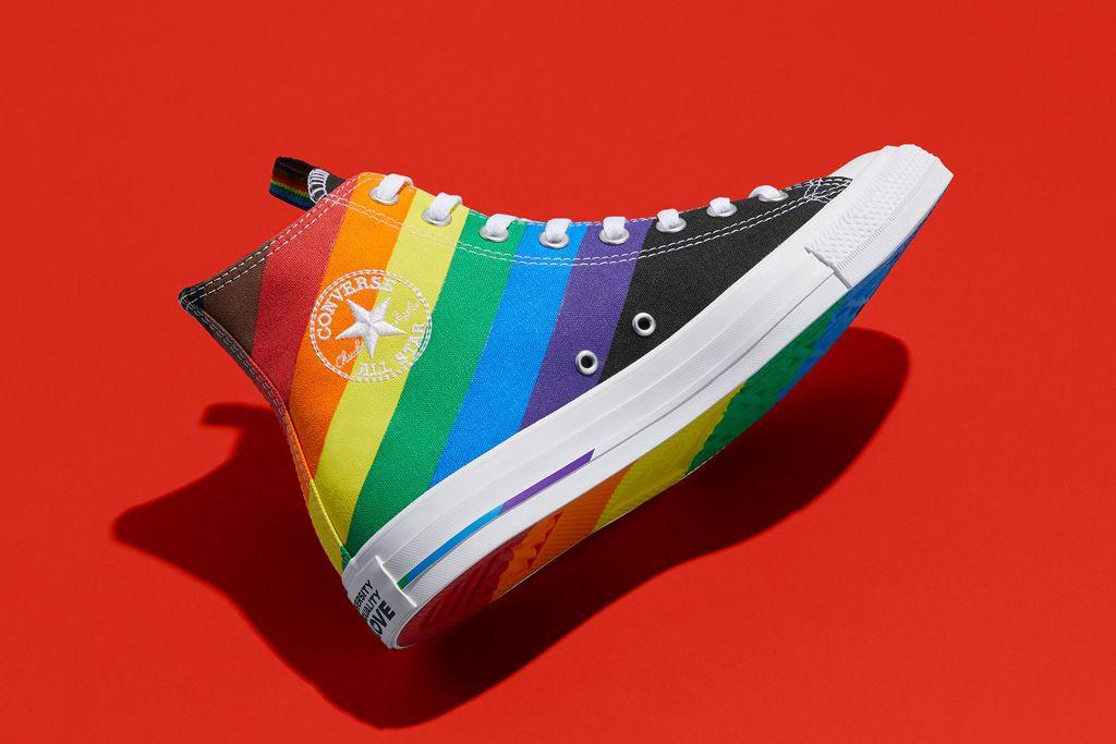 Converse S 2020 Pride Collection Comes With Sequins Rainbows Platforms More In 2020 Converse Pride Converse Pride Shoes