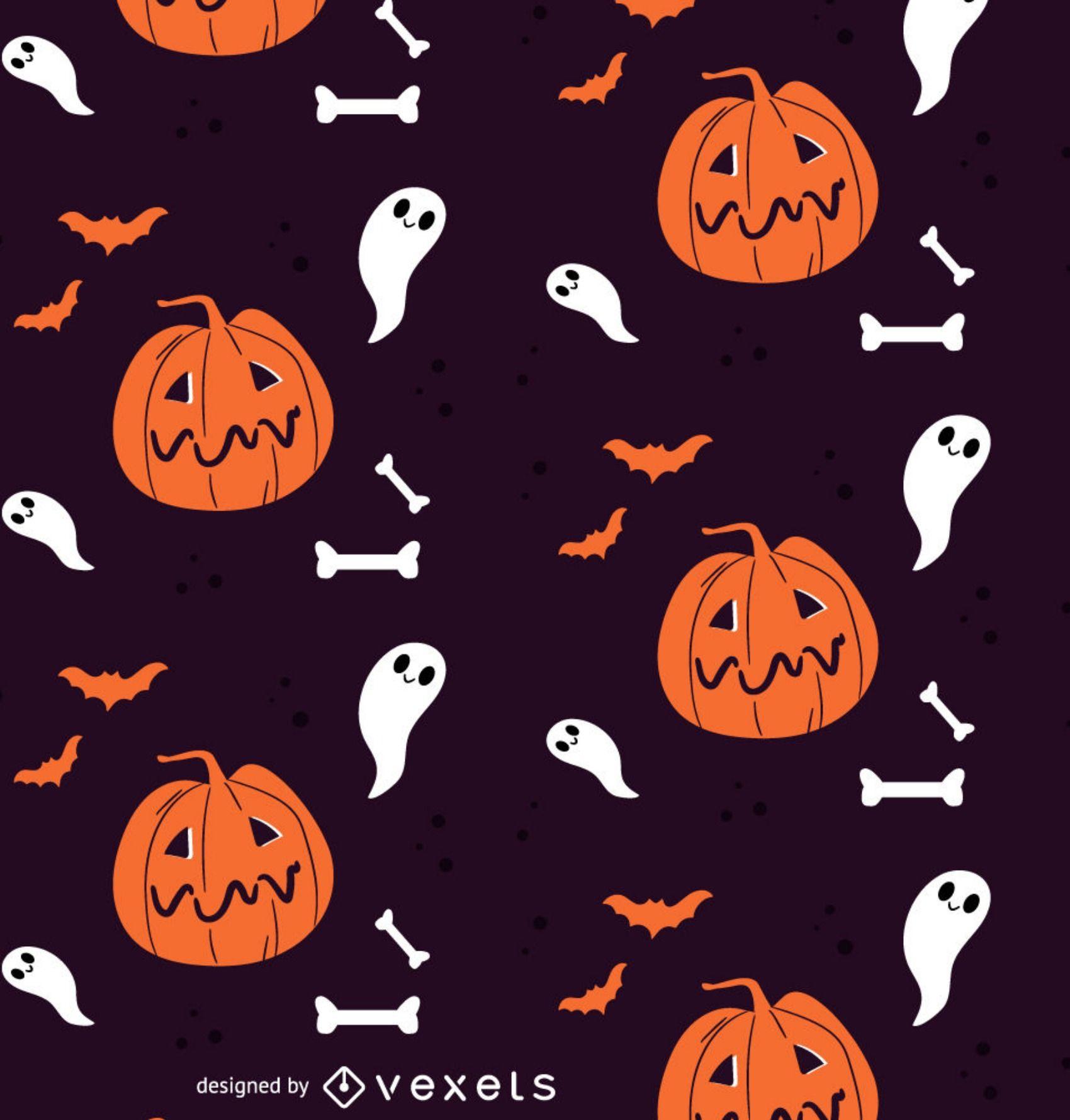 Halloween Pattern Wallpaper.Pin On Halloween
