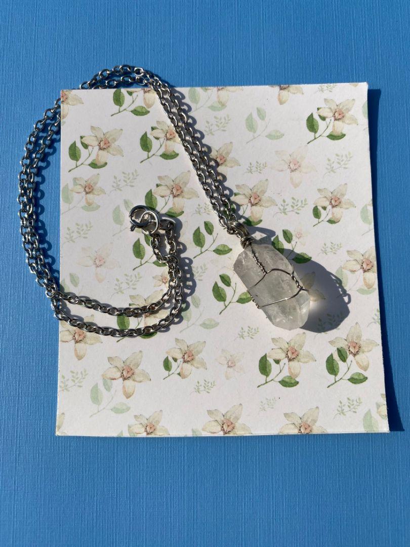 #clearquartz #gemstones #gemstonejewelry #gems #jewelry #handmade