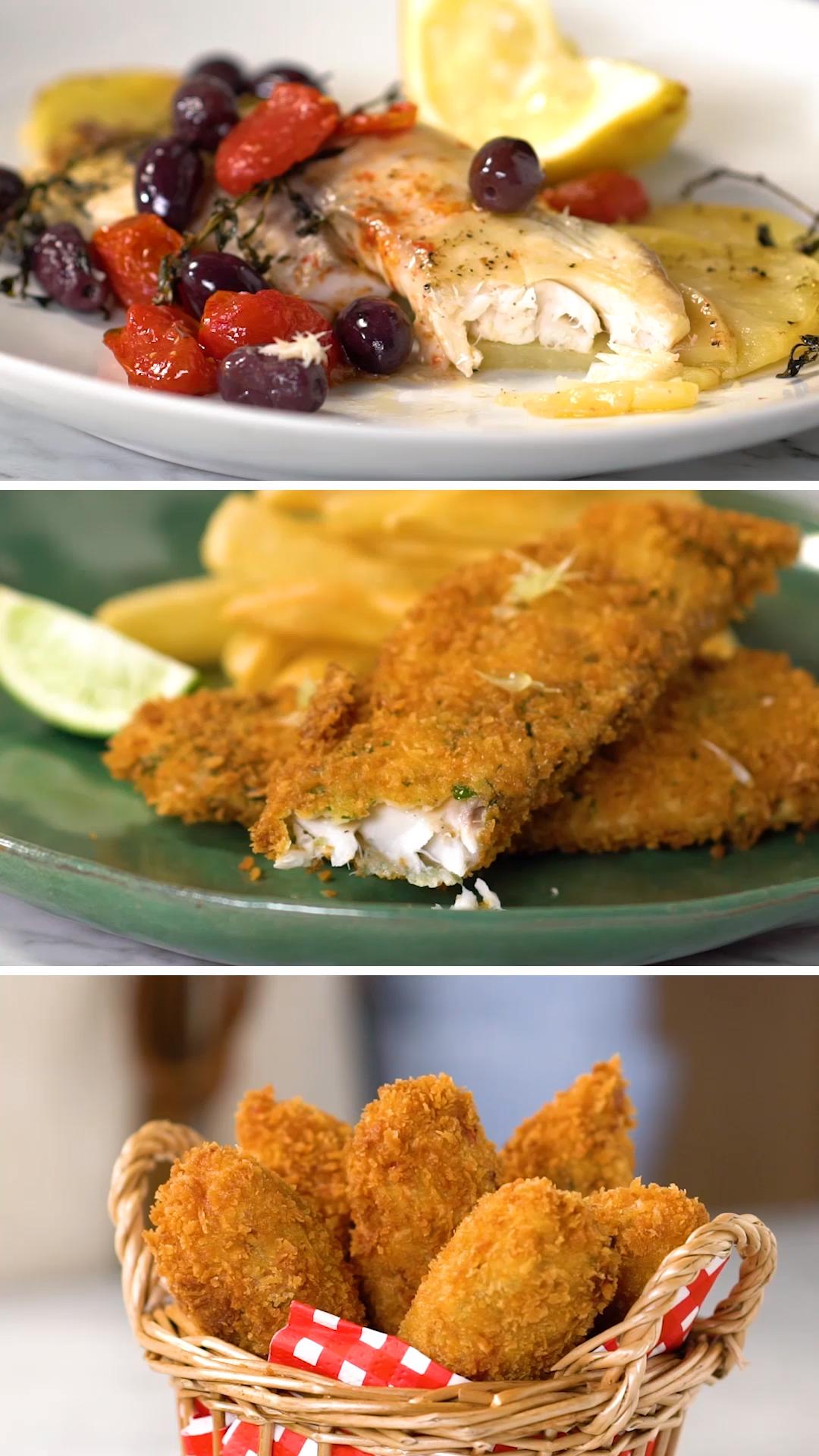 El Pescado Es Delicioso En Todas Sus Formas Pero Estas 3 Te Van A Enloquecer Video Recetas Faciles De Comida Recetas Comida Rapida Recetas De Comida