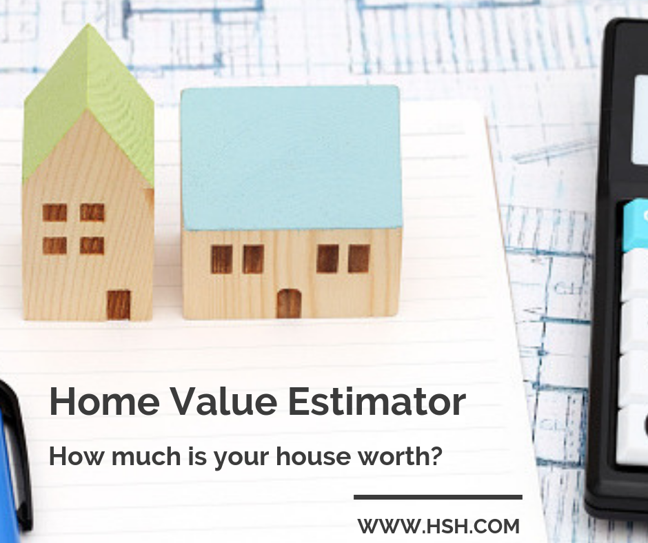 Home Value Estimator How Much Is My House Worth Mortgage