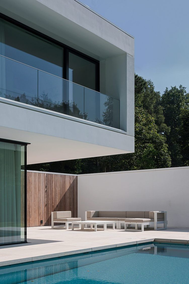 Balcon   HS Residence Par Cubyc Architects   Bruges, Belgique