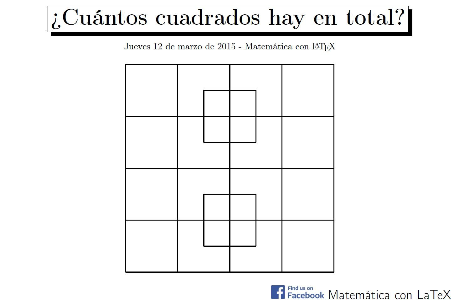 How many squares can you see facebookmatematicaconlatex how many squares can you see facebookmatematicaconlatex latex pooptronica Image collections