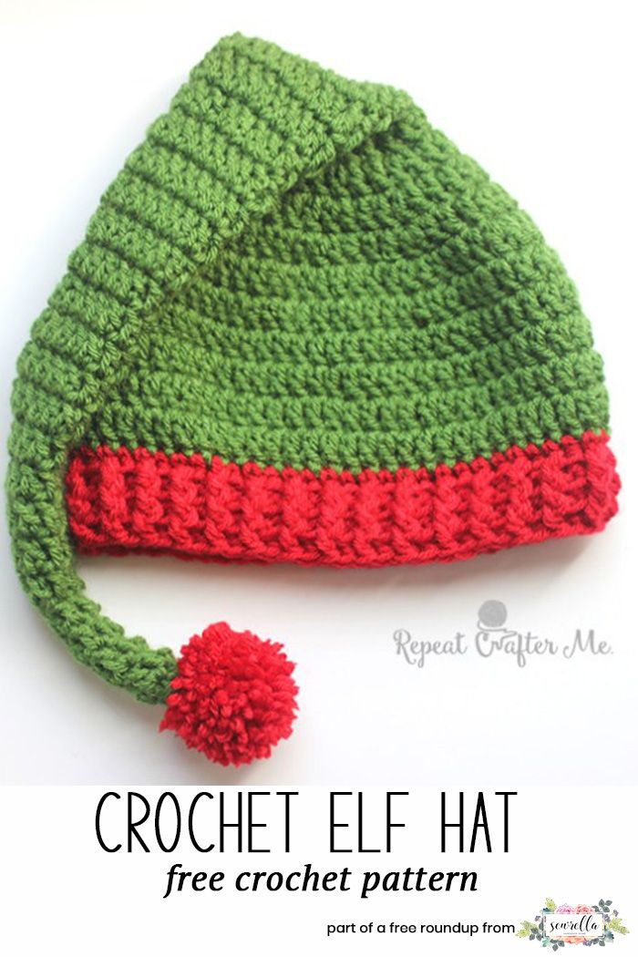 Crochet Last Minute Christmas Patterns Pinterest Santa Hat Free