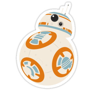 Bb 8 sticker stickers by castelgard redbubble