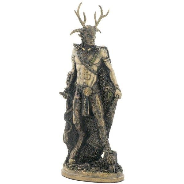 Amazing Celtic Cernunnos Statue By Pagan Artist Neil Sims 50
