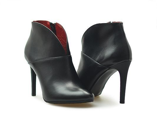 Botki Carinii B3615 E50 Czarne Lico 37 Arturo 6513786491 Oficjalne Archiwum Allegro Stiletto Boot Heels Boots