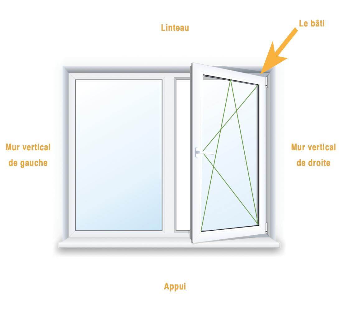 comment prendre les mesures pour votre fen tre ou porte fen tre ouvertures et fen tres. Black Bedroom Furniture Sets. Home Design Ideas