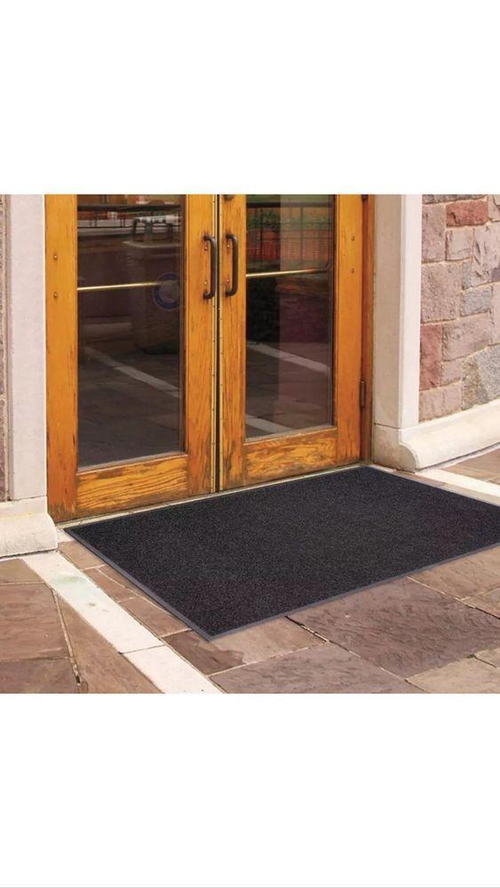 New 60 Outdoor Door Mat Indoor Home Office Entrance Floor Rug Recycled Rubber Door Mat Recycled Rubber Outdoor Carpet