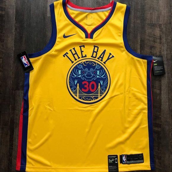 ecb555d70 Steph Curry NBA GS Warriors Nike Dri-Fit Jersey XL Men s Nike NBA City  Edition