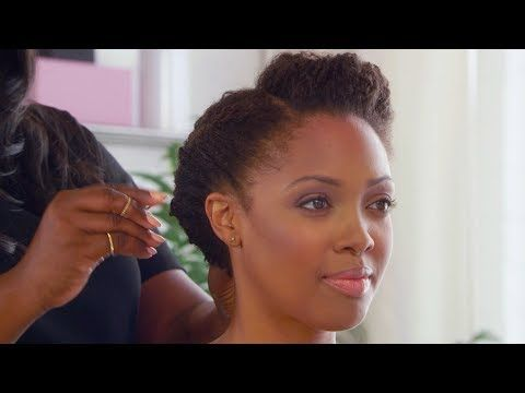 Natural Hairstyles Updo Hairstyles With Kim Kimble Pantene Natural Hair Styles Hair Styles Afro Natural