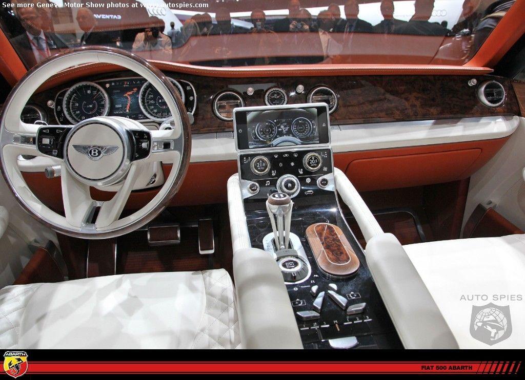Bentley Suv Concept Interior Dream Cars Cars Bentley Suv