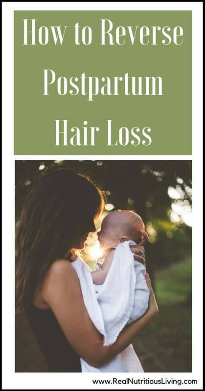 How To Reverse Postpartum Hair Loss
