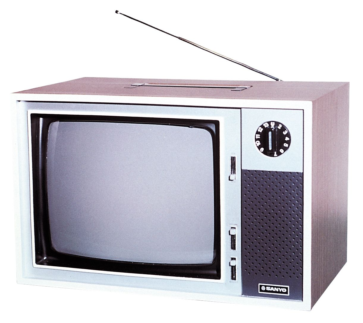 1970 Samsung S Very First Tv Was A 12 Inch Vacuum Tube Black And