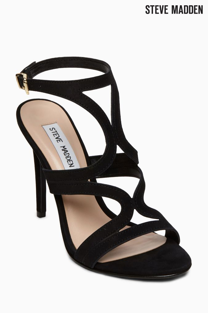 SERGIO ROSSI women shoes Edwige black patent leather T-bar sandal with platform