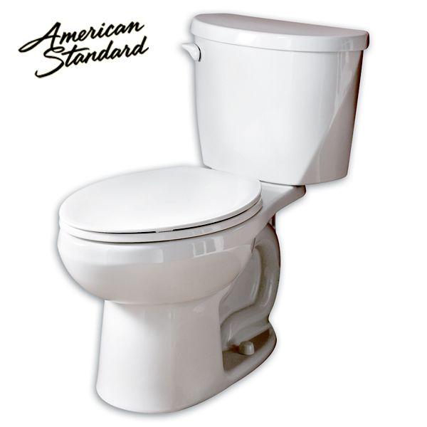 American Standard 1.28 GPF Low Consumption Tank Type Toilet Bowl ...