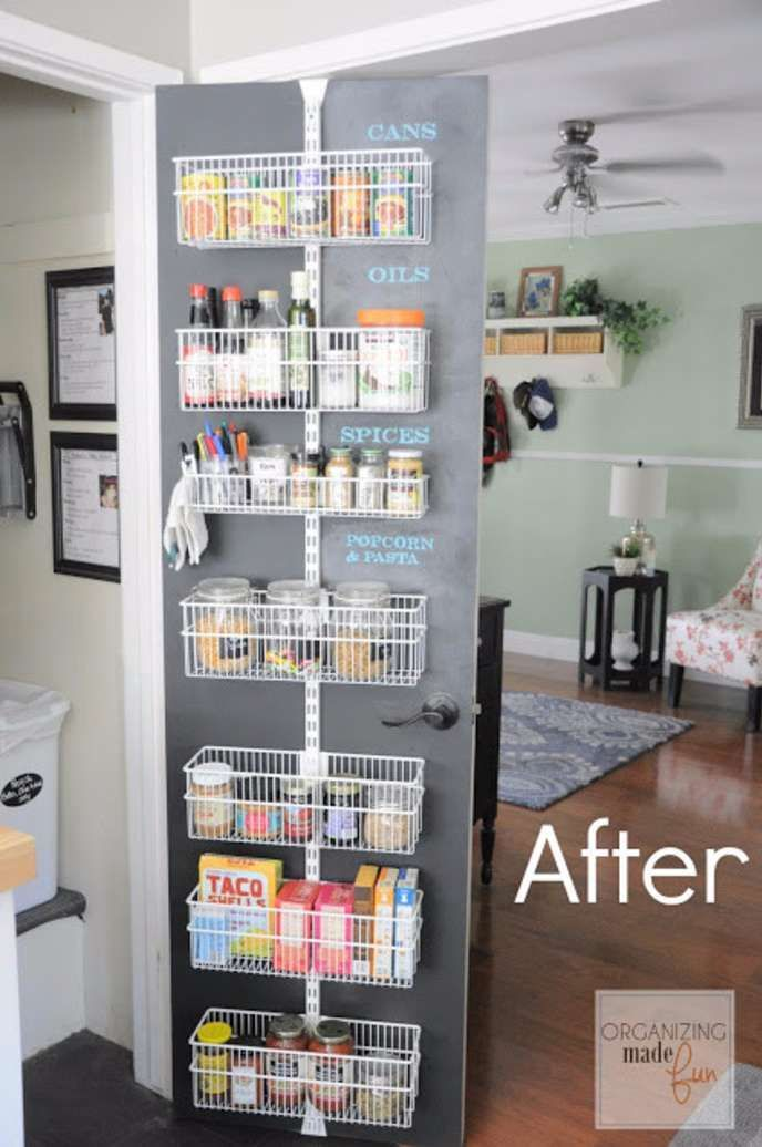 10 Beautifully Organized Kitchen Pantries That Will Inspire You ...