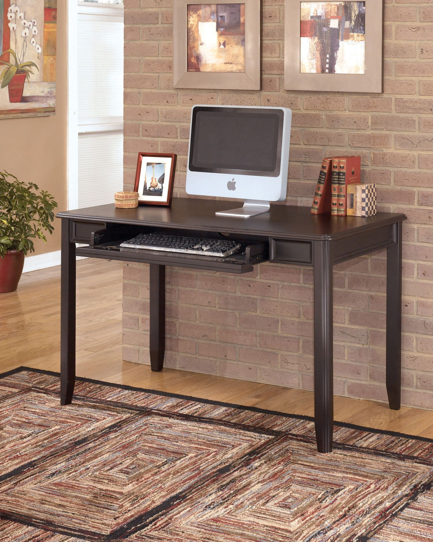 Carlyle small leg desk modern home office furniture