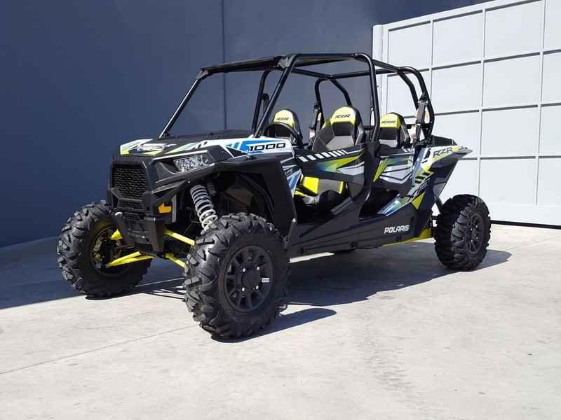 New 2017 Polaris RZR XP 4 1000 EPS White Lightning ATVs For Sale in