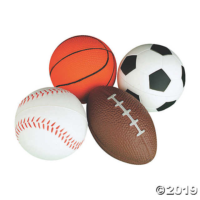 Realistic Sport Stress Balls Oriental Trading Sports Balls Gifts For Sports Fans Ball