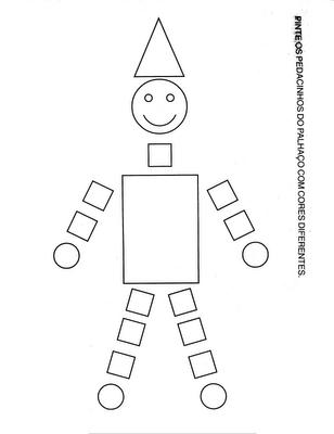Resultado de imagem para desenhos com figuras geometricas