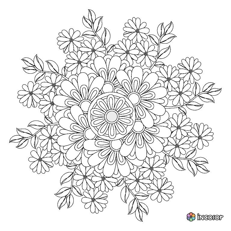 Pin de Pamela McHatten en coloring | Pinterest | Estrés, Aula y Mandalas