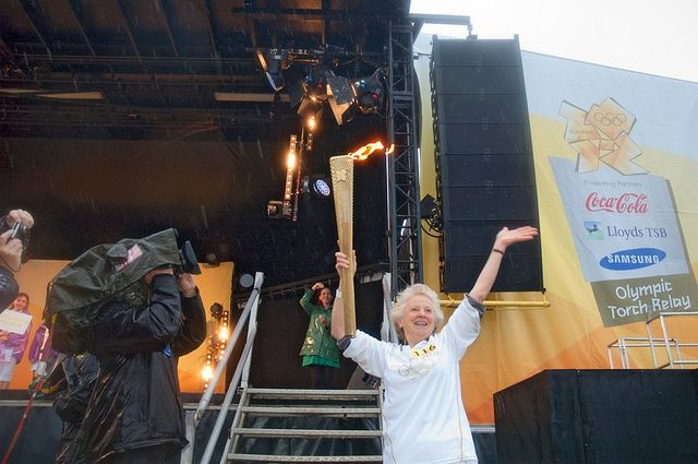 The Olympic Torch Relay Evening Celebration, Weymouth by dorsetforyou.com, via Flickr