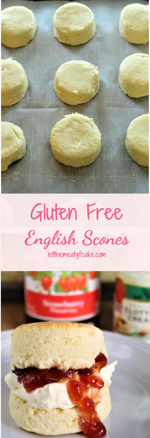 Gluten Free English Scones #glutenfreebreakfasts