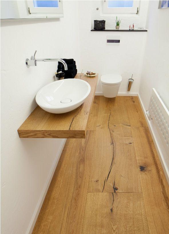 Tarima de roble natural gran formato envejecida bimbo for Muebles de bano de madera maciza natural
