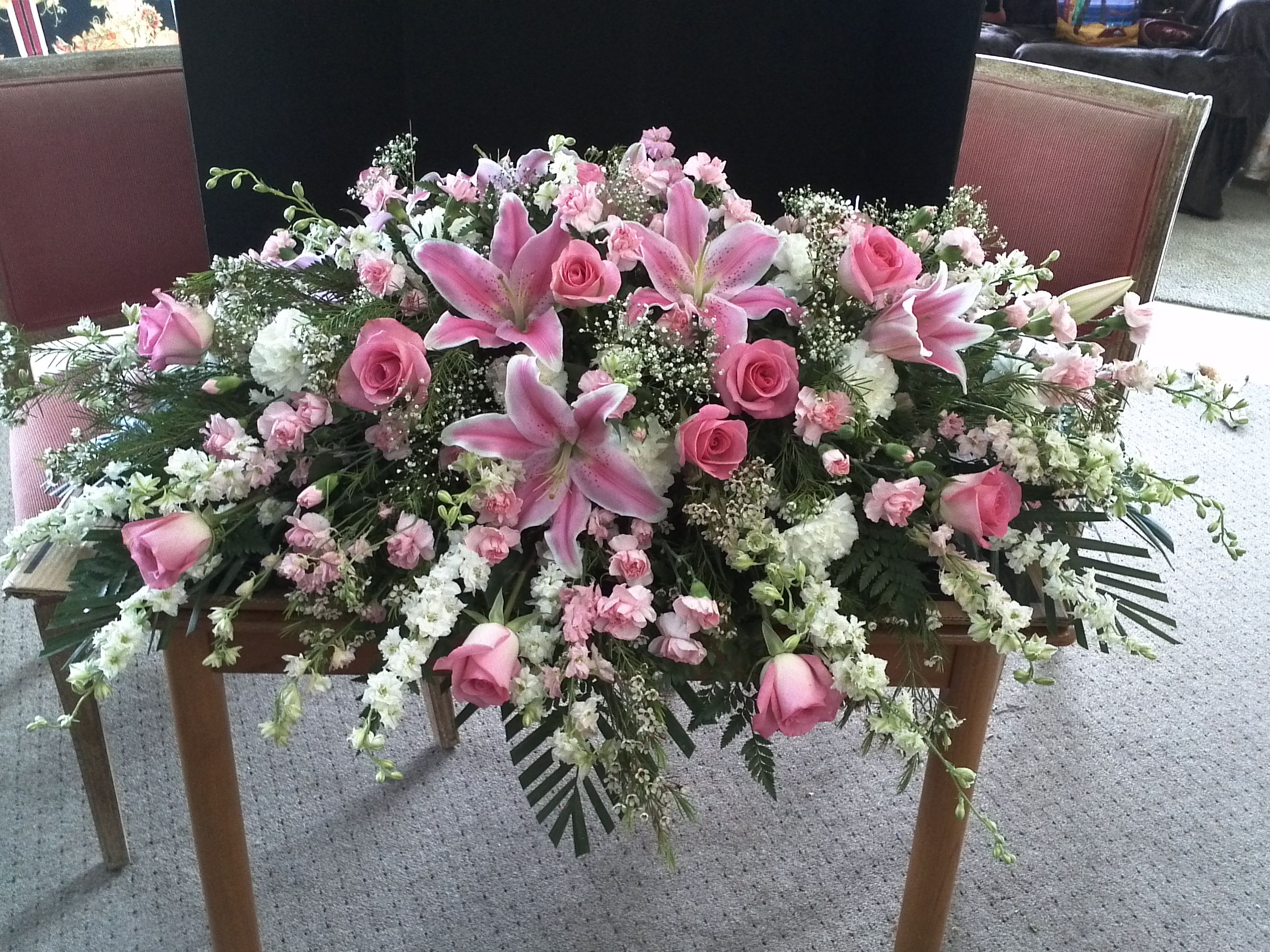 Pin by preet jhalli on funeral flowers pinterest funeral flowers funeral flowers and sympathy flowers are available for same day delivery to all area funeral homes izmirmasajfo