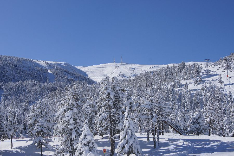 Vista Pic de l'Orri des de Cota 2000
