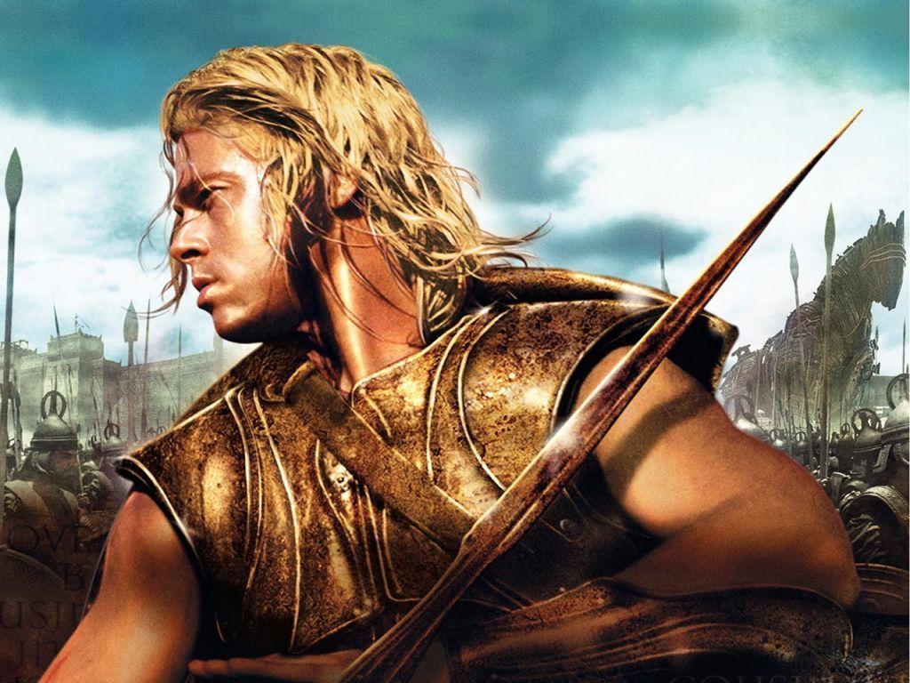 Brad Pitt As Achilles In Troy Gosh How Can This Man Be Real Swoon Ver Peliculas Online Peliculas Online Descargar Películas