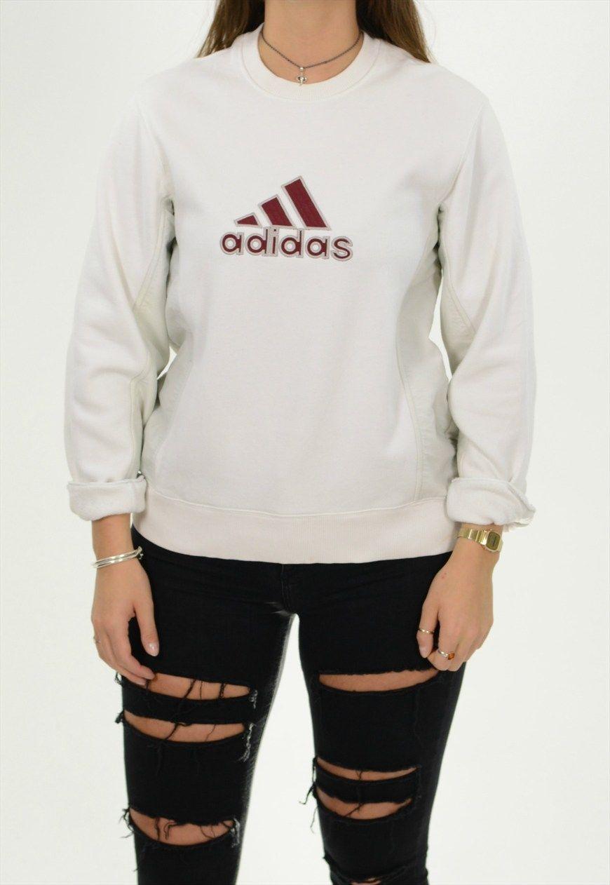 752205ff7 Vintage Adidas Sweatshirt /BVBSW234   Bloc Vintage   ASOS Marketplace